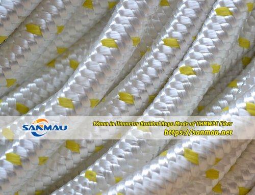 UHMWPE rope