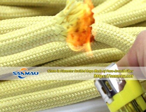 Aramid rope