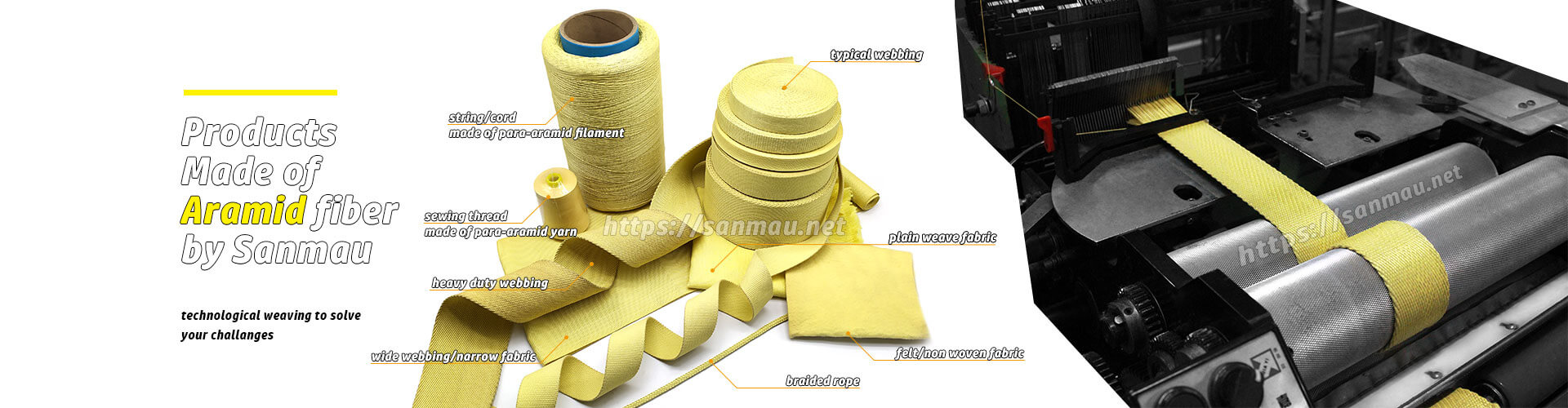 kevlar-fabric-aramid-webbing-manufacturer-China