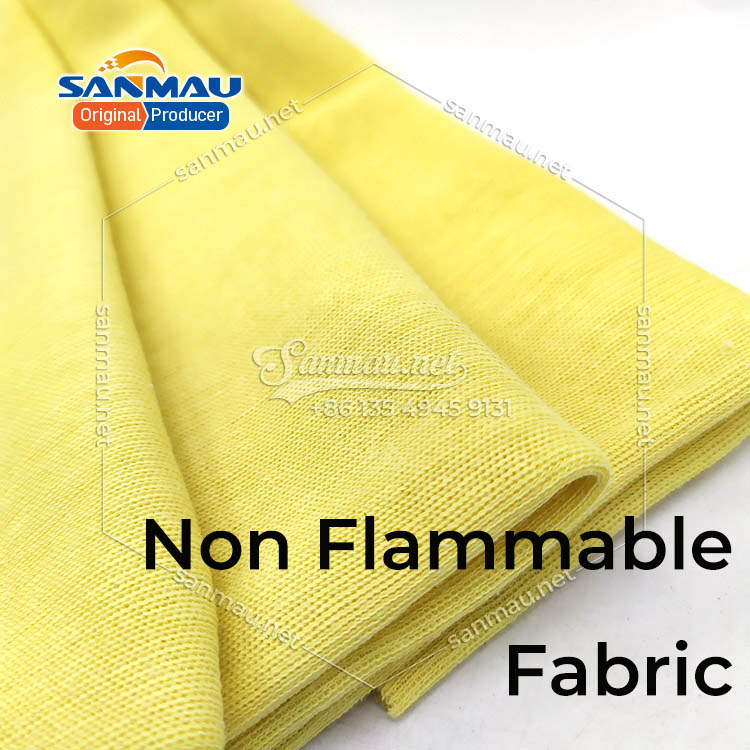 Aramid fabric heat resistance good flame retardant and chemical resistance high tensile strength