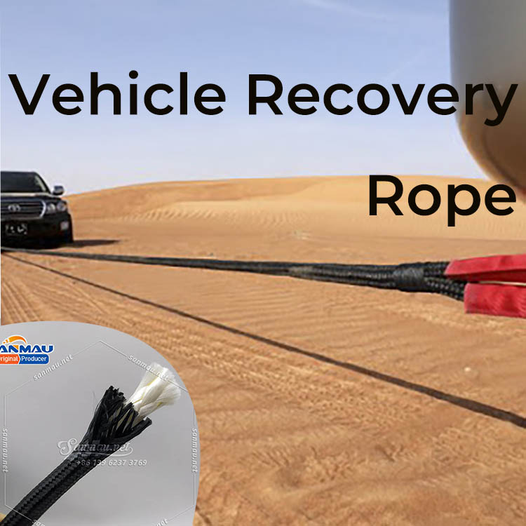 Vehicle Recovery Rope for Pulling Cars SUV
