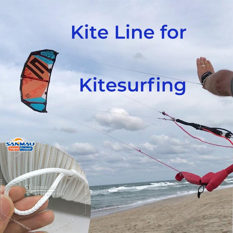 Kite Line for Kitesurfing Kiteboard