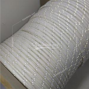 white reflective UHMWPE rope